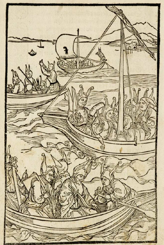 Sebastian Brant, Narrenschiff, Ship of Fools
