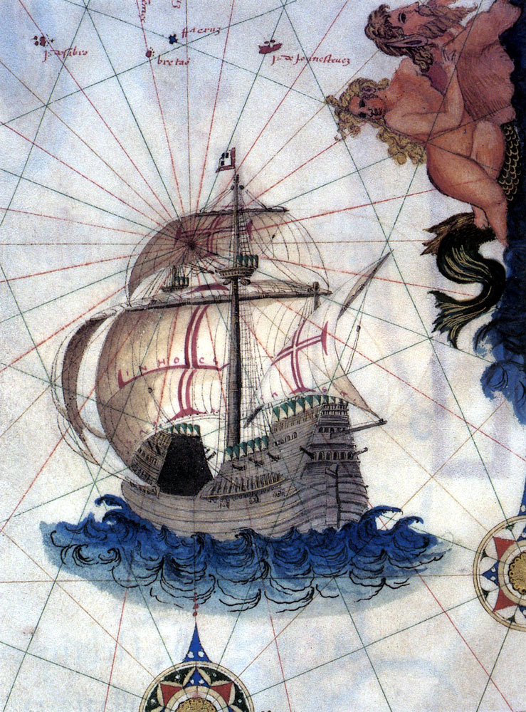 Portugese carrack, 1565