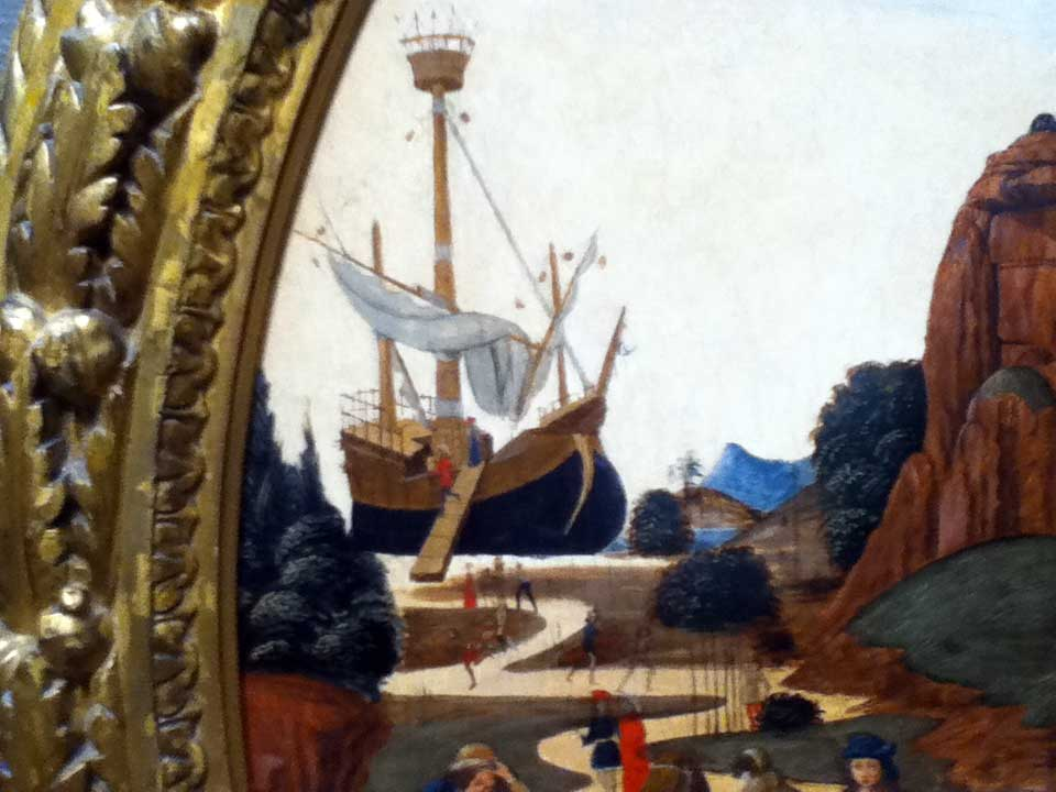 Botticini's ship