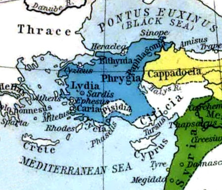 Lydian Empire ca. 600 BCE